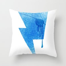 A Blind Neptune Throw Pillow