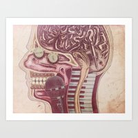 Music Mind Art Print