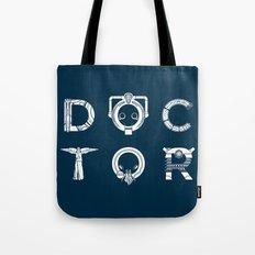 DOCTOR - clean tee print version Tote Bag