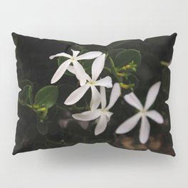 white plumeria Pillow Sham
