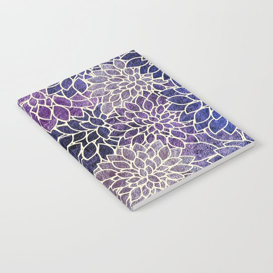 Floral Abstract 11 Notebook