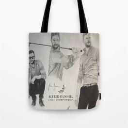 Jamie Dornan- Alfred dunhill/links championship 2015 Tote Bag