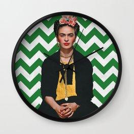 Frida Kahlo Photography I Wall Clock