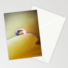 Yellow tear Stationery Cards