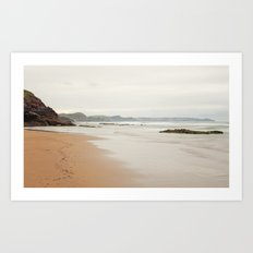 Sea Asturias Art Print