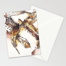 Chipewyan Feathers Stationery Cards