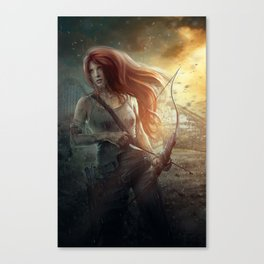 Angel in Training Canvas Print
