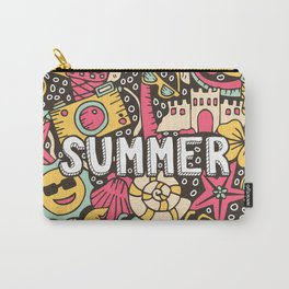 Summer Doodle Carry-All Pouch