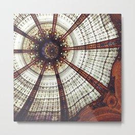 Parisian ceiling Metal Print