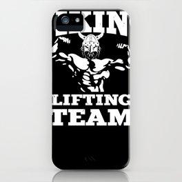 Viking lifting team iPhone Case