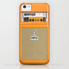 Retro Orange guitar electric amp amplifier iPhone 4 4s 5 5s 5c, ipad, tshirt, mugs and pillow case iPhone 5c Slim Case