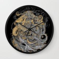 Octolady Wall Clock