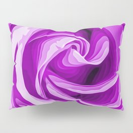 purple rose texture background Pillow Sham