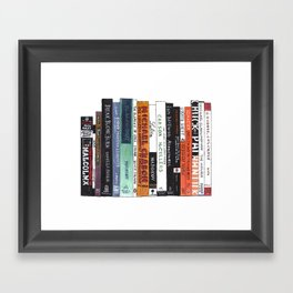English Major Framed Art Print