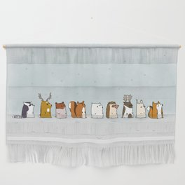 Winter forest animals Wall Hanging