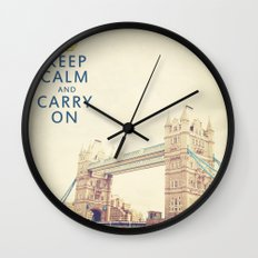 Keep Calm London Wall Clock