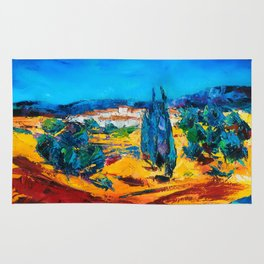 Sunny Day In Provence Rug