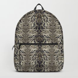 Tiger skin background Backpack