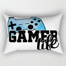 Gamer life Rectangular Pillow
