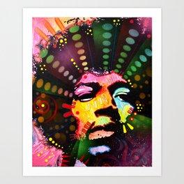 ColorFreakOut Art Print