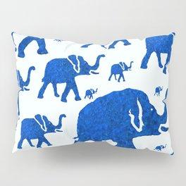 ELEPHANT BLUE MARCH Pillow Sham