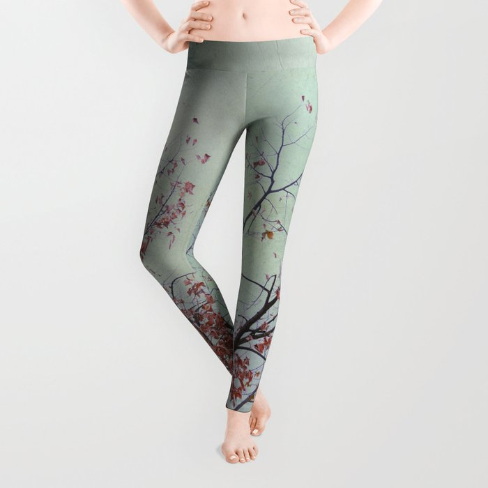 Nature has arms for those who need a hug Leggings