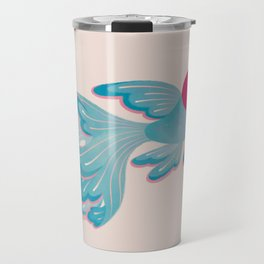 Red cap Oranda 2 Travel Mug