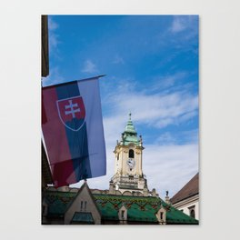 Old Town Hall Canvas Print