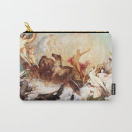 Hans Makart - The victory of light over darkness - Digital Remastered Edition Carry-All Pouch