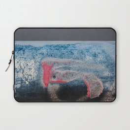 Paint And Texture In Red White Blue Laptop Sleeve