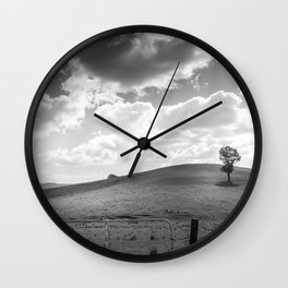 Country hills Wall Clock