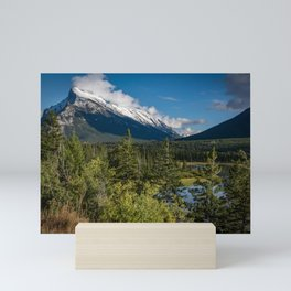 View of Mount Rundle Mini Art Print
