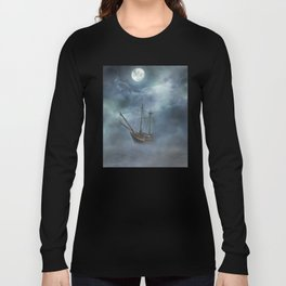 Sailing in the Dark Seas Long Sleeve T-shirt
