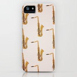 Saxophones iPhone Case