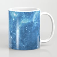 galaxy Mugs featuring Galaxy by Space99