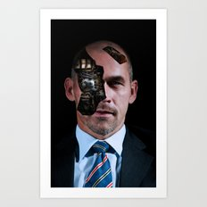 Automated Banking Art Print