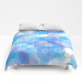 Aqua bubbles Comforters