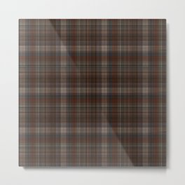 Scottish textile Metal Print