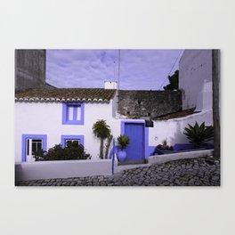 Home in Nazare Canvas Print