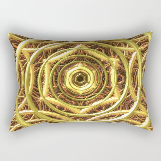 Rich Web Rectangular Pillow