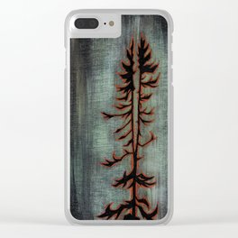 Northern Ontario Love Letter Clear iPhone Case