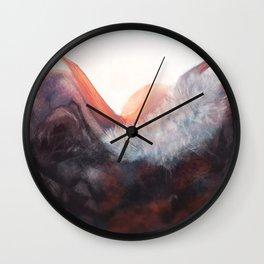 Sleeping King Wall Clock