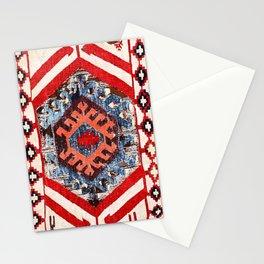 Hotamis Konya Central Anatolian Kilim Fragment Print Stationery Cards