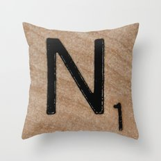 Tile N Throw Pillow