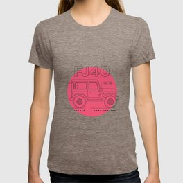 Toyota Land Cruiser FJ40 Fan Artwork T-shirt