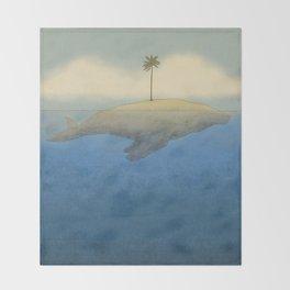 Peaceful Humpback Throw Blanket