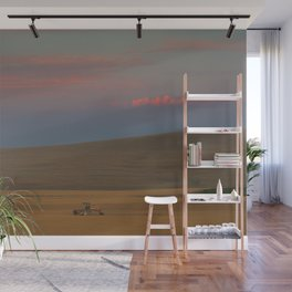 Harvest at Sunset Wall Mural