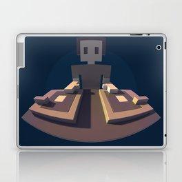 DJ Voxel - discjockey logo Laptop & iPad Skin