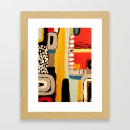 chemins Framed Art Print