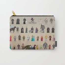 Game of Pixel Thrones Carry-All Pouch